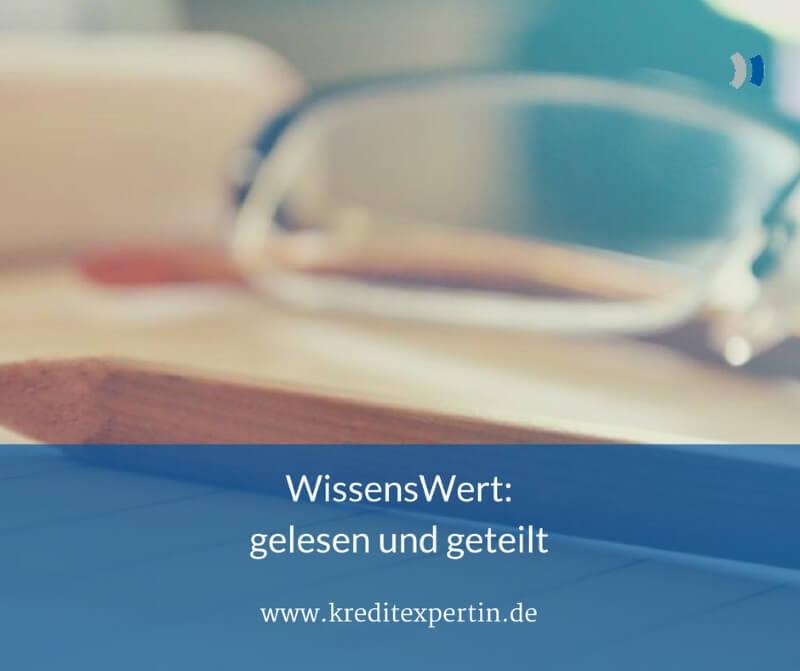WissensWert: gelesen und geteilt #1
